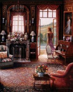 Mundo romântico nas pinturas de John O'brayena  6