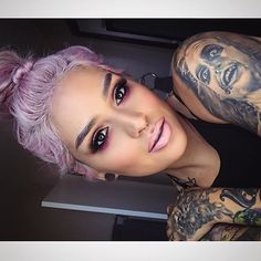 Are you pretties interested in getting into the makeup industry or looking to advance your skills? Join @lora_arellano in L.A on August 15th. She will be teaching a class on editorial makeup techniques on beauty, and a Q&A on her business and how she got started! Come on down and hang/chat it up with her, she'd really love it❤️ For more info, click the link in her BIO :) or you can type in : loraarellano.eventbrite.com Lips: Pink liner and SEXT lipstick! #meltcosmetics