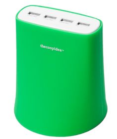 Global Product Solution J5USB-GN Jelly 5.1Amp USB Charging Station-Green