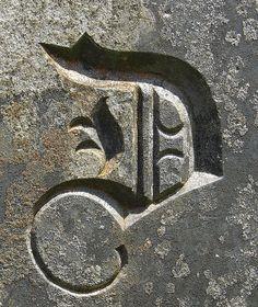 the letter 'd' Alphabet Fotografie, Letter Art, Alphabet Letters, Alphabet Photos, Polish Words, Stylish Letters, Alphabet Photography, Font Art, Stone Carving