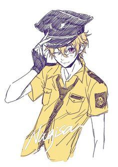 Slut in correction officers uniform — 8