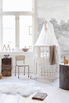 Get your inspiration fix with this beautiful collection of soft, neutral nurseries... the perfect place for your little bundle of joy!