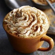 Spicy Pumpkin Spice Latte | Enjoy the tastes of the season year-round with this recipe for DIY pumpkin spice lattes.
