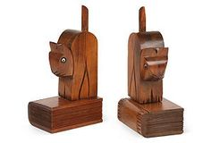 Pine Cat Bookends  $129.00