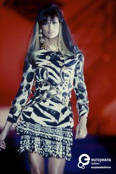 Linda Evangelista Gianni Versace, Spring-Summer 1992, Couture