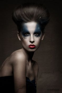 """Precious""   Model: Yulia D., Photographer: Mikhail Malyugin, Dark Beauty Magazine #16, January 2013"