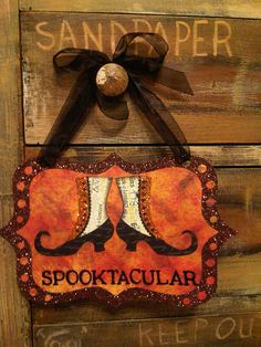 Nice finishing touch for a halloween cross stitch