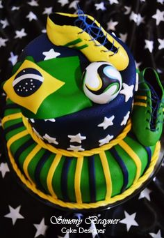 Bolo Copa do Mundo
