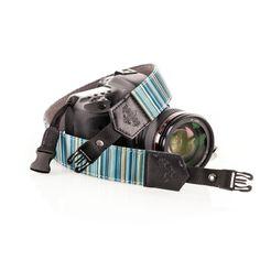 Blue Streak - Redier camera strap