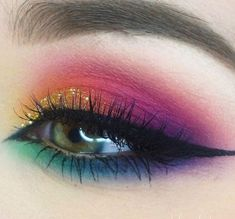 Cute eye make up beauty makeup tips, makeup goals, makeup art, face makeup Eyeshadow Looks, Eyeshadow Makeup, Makeup Brushes, Hair Makeup, Eyeshadows, Purple Eyeshadow, Prom Makeup, Makeup Remover, Eyeshadow Palette
