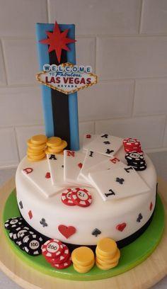 Las Vegas Casino Cake Poker Cakes Marzipan