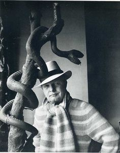 Truman Capote, 1973 photo by Horst P. Horst