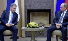 ILTA-LEHTI MOSKOVASSA 22.3.2016 AJANKOHTAISTA Venäjä tapaamin Suomem Presidentin kanssa tänään Moskovassa. Presidentti Vladimir Putin ei tällä kertaa puhunut suomea mutta Sauli Niinistö puhui venäjää.