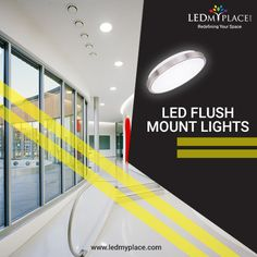 The LED Flush Mount Lights features latest-in ceramic based driver on board light engine module to provide high operational efficiency that can last upto 50000 Hours. Flush Mount Led Lights, Indoor Places, Exit Sign, Post Free Ads, Emergency Lighting, Light Beam, Big Windows, Safety And Security, How To Make Light
