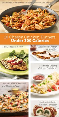 Cheese? Chicken? Calorie-Controlled? It's triple-check with these delicious, under 300 calorie dinners.