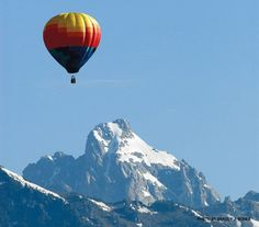 Hot Air ballooning in Jackson Hole, WY - I did this and it was AWESOME!!!!