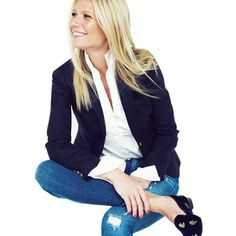 You get us every time, Gwyneth. (in head-to-toe J.Crew, too!)