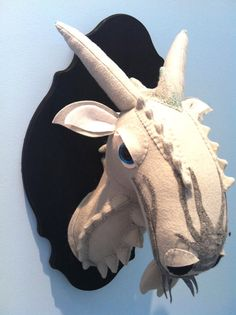 XLarge Dragon faux taxidermy by MisfitMenagerie, $100.00