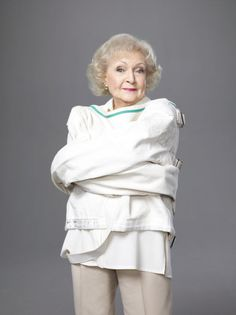 Betty White has so much humor I hope I am as care free when I'm older I love her so much!