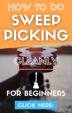 Learn how to sweep pick on guitar with arpeggio exercises, licks and examples. Start your shred guitar journey and take your solo skills to an advanced level. #guitar #music Lead Guitar Lessons, Free Online Guitar Lessons, Acoustic Guitar Lessons, Guitar Tips, Easy Guitar Songs, Guitar Scales, Guitar For Beginners, Soloing, Playing Guitar