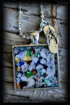 "'Up North' - Michigan  ""Petoskey Stones and Beach Glass"" www.etsy.com/shop/UpNorthCapturedMmnts"