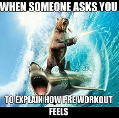 Gym humor....pre-workout