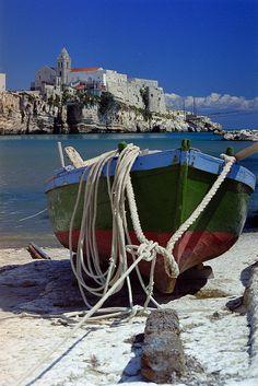 ~Boat rest | Vista sulla Punta de San Francesco~
