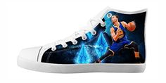 RenBen Non-slip plimsolls Custom Stephen Curry Kids Canvas Shoes Lace-up High-top Footwear Slip-on Shoes - Brought to you by Avarsha.com