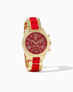 Romanesque Two-Tone Watch   UPC: 410006931480 #charmingcharlie #COTM