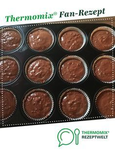 Chocolate muffins super delicious by A Thermomix recipe from the Sweet Baking category at www.de the Thermomix Community. The post Chocolate muffins delicious appeared first on Daisy Dessert. Donut Recipes, Baking Recipes, Cake Recipes, Bread Recipes, Delicious Chocolate, Chocolate Recipes, Delicious Donuts, Delicious Desserts, Cute Baking
