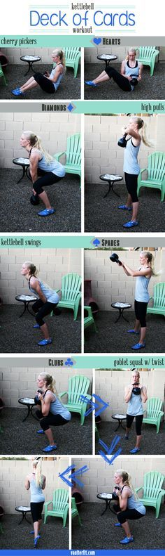 Kettlebell Deck of Cards Workout | Posted by: CustomWeightLossProgram.com