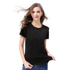186c24075d3b Click to Buy    2017 fashion Women s Summer TShirt Clothes short sleeve  Shirt.