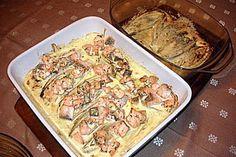 Chicoree - Auflauf mit Lachs