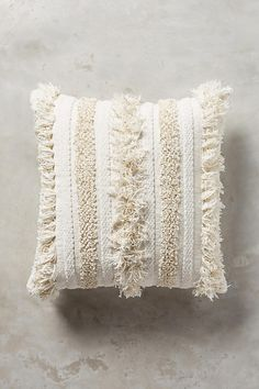 Slide View: 1: Textured Indira Pillow