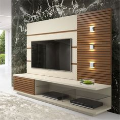 TV wall unit Designs is an essential part while designing your living room, Bedroom or tv room. Tv Stand Designs For Living Room have to be. Tv Unit Interior Design, Tv Wall Design, Tv Cabinet Design Modern, Tv Console Design, Lcd Unit Design, Tv Unit Furniture Design, Interior Design Living Room, Tv Unit Decor, Tv Wall Decor