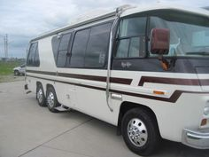 Our newly painted coach weidnerl larry op gmc motorhome archive