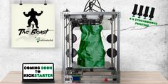 The Beast – 'A 3D Printer So Large it Could Print a Child' Unveiled by cultivate3D http://3dprint.com/89647/beast-3d-printer-cultivate3d/