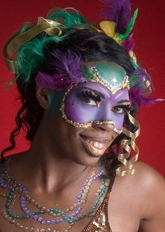 venetian carnaval painted faces - Google Search