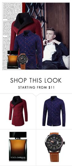 """Rosegal 17/ III"" by emina-095 on Polyvore featuring Dolce&Gabbana, men's fashion, menswear, polyvoreeditorial and rosegal"