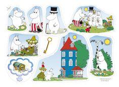Muminsaga som är en helt unik flanellografsaga. Följ med i Mumins fantastska värld på upptäcktsfärd. Lättberättad saga som inspirera till lek! Konmari, Pre School, Montessori, Kindergarten, Family Guy, Comics, Kids, Pictures, Fictional Characters