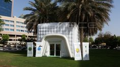 #Dryspace 6m #InflatableCube  #DEWA Roadshow #Dubai engage@dryspace.ae working with http://www.pievents.ae/
