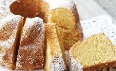 Anielska babka z mąki migdałowej Gluten Free Recipes, Low Carb Recipes, Vegetarian Recipes, Cooking Recipes, Free Food, Sugar Free, Dairy Free, Sweet Tooth, Bread