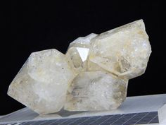 Herkimer Diamond Crystal Cluster with Moving Anthraxolite, RARE NY Mineral SALE  | eBay