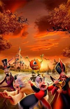 Disney Halloween!