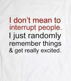 I don't mean to interrupt...