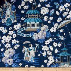 P Kaufmann Summer Palace Zephr Fabric