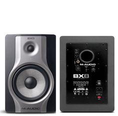 M-audio BX8 carbon Tomando como fundamento la exitosa y aclamada serie de monitores BX, M-Audio presenta la nueva serie BX Carbon que se distinguen por sus amplificadores