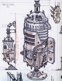 Fallout 3 world objects concept art Fallout Concept Art, Fallout Art, Game Concept, Character Concept, 3d Character, Art Anime, Anime Art Girl, Found Object Art, Videogames