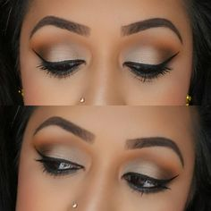 """""""Today's soft glam eyes Eyes: @toofaced Semi-Sweet Chocolate Bar palette - 'Coconut Crème' over entire eye, 'Peanut Butter' in crease, 'Cocoa Chilli'…"""""""