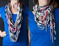 Necklaces Made From T-Shirts | necklace5
